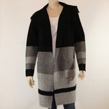 Arianna Striped Open Cardigan