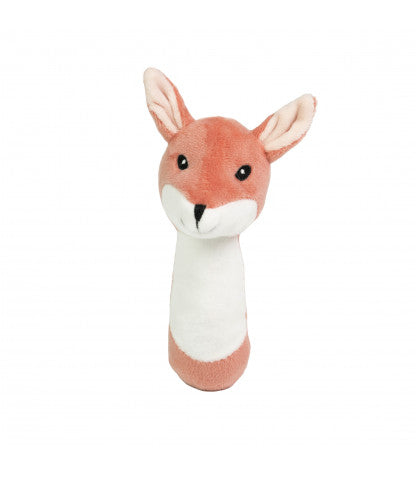 EDVIN PLUSH RATTLE FOX-Rattle-Nookoo