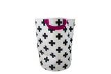 Cross Handle Storage Bag with Pink handle by Wildfire Teepees