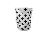 Cross Handle Storage Bag with White handle by Wildfire Teepees