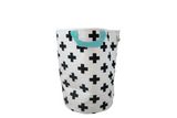 Cross Handle Storage Bag with Blue handle by Wildfire Teepees