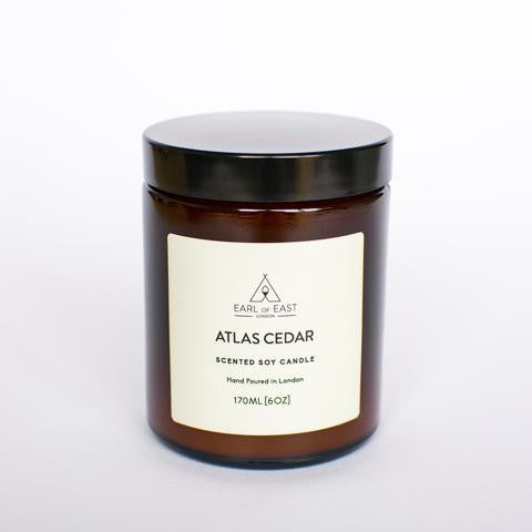 Earl of East Soy Wax Candle - Atlas Cedar 170ml [6oz]