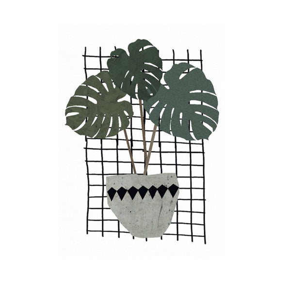Monstera print-Nookoo