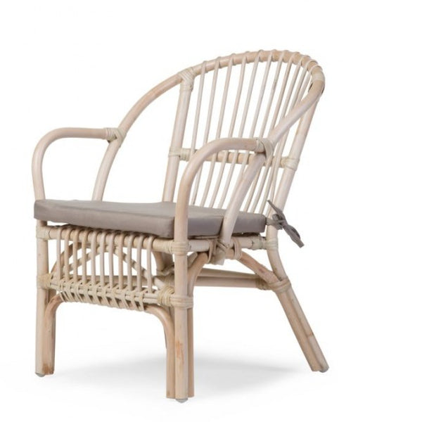 Kids rattan armchair-rattan kids chair-Nookoo