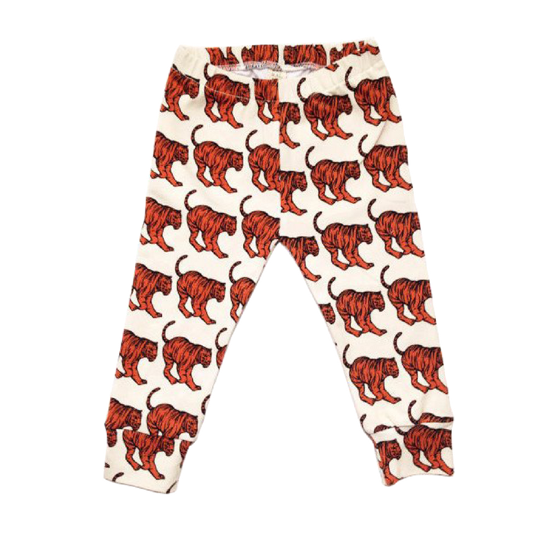 NOOKOO TIGER PANTS UNISEX LEGGINGS BY MARMALADE SKY, COOL KIDS CLOTHING