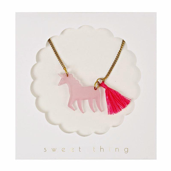 nookoo Meri Meri unicorn necklace for kids