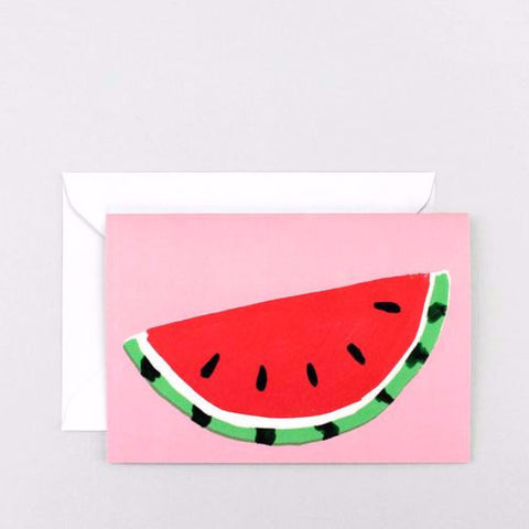 'Watermelon' Greetings Card