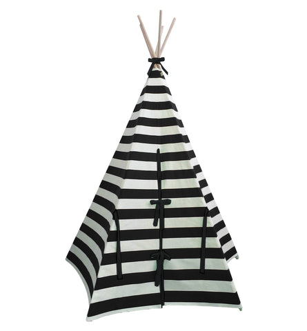 Black Stripe Teepee