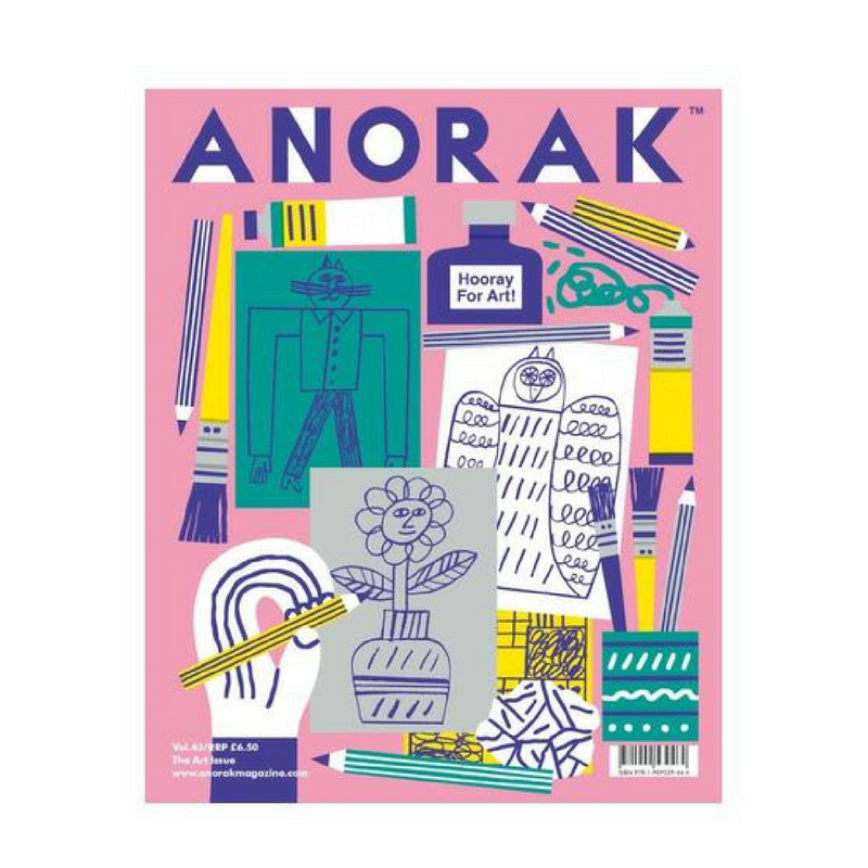 nookoo anorak art issue kids magazine
