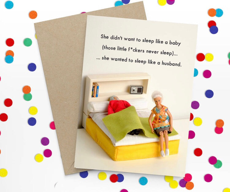 New baby card-Stationery-Nookoo