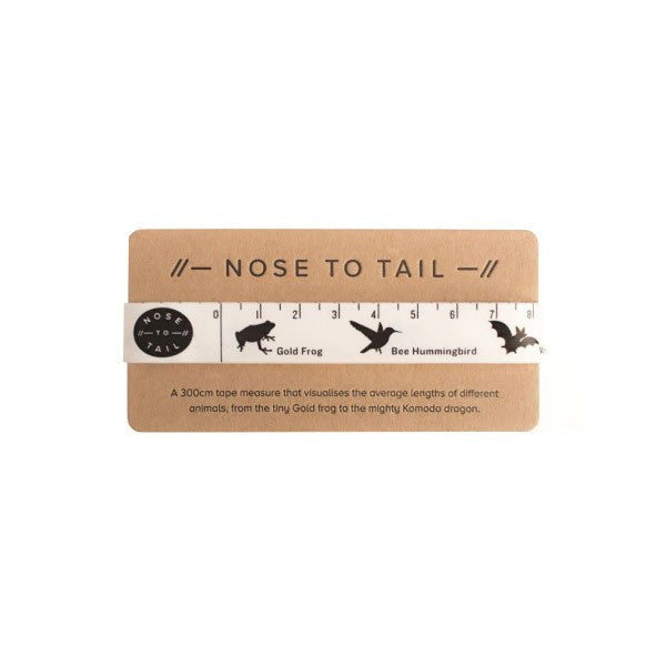 Children's Height tape measure animals by Nose to Tail