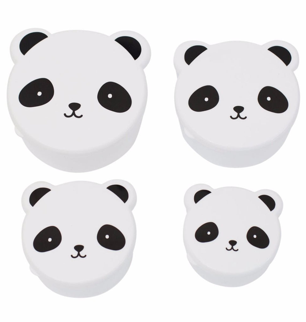 nookoo Panda snack boxes by a lovely little company