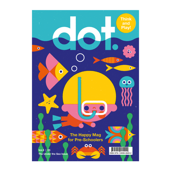 nookoo Dot under the sea kids magazine by anorak