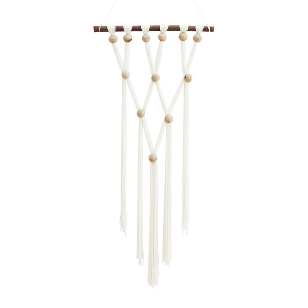 Beaded Macramé Wall Hanging-Nookoo