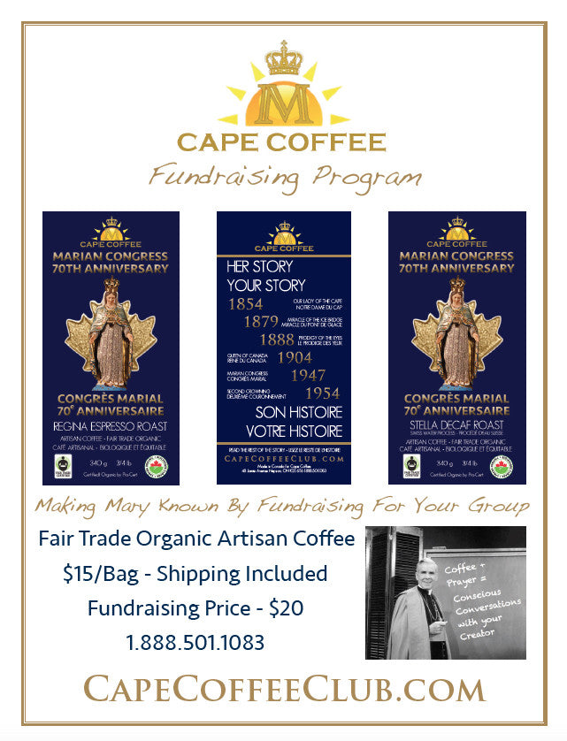 Cape Coffee Fundraising Program – CatholicInCanada com