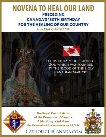 Knights of Columbus Novena Poster