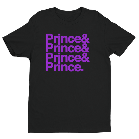 Purple Prince Ampersand Shirt