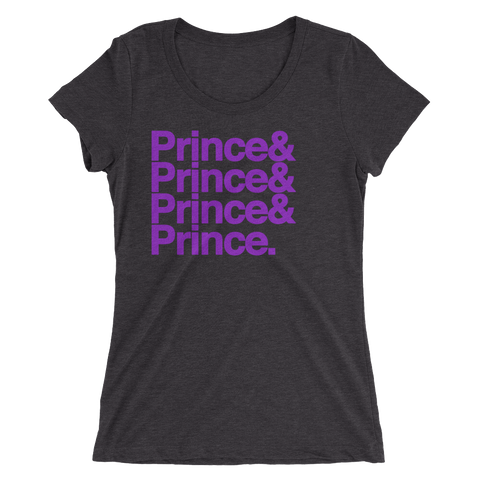 Purple Prince Ampersand Shirt (Women's)