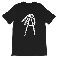 A-Town Down Skeleton Fingers Shirt