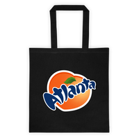 Fans of Atlanta Tote Bag (black)