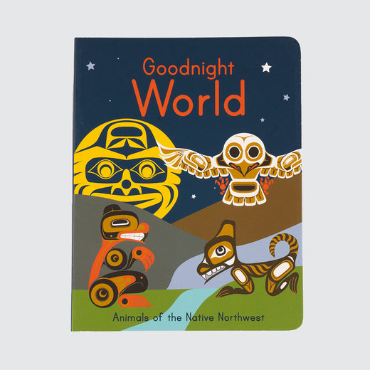 "Cover of a book entitled ""Goodnight World"""