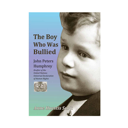 "cover of a book entitled ""The Boy Who Was Bullied"""
