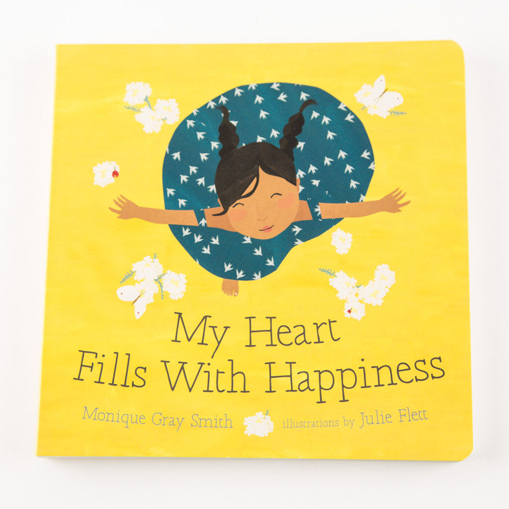 "cover of a book entitled ""My Heart Fills With Happiness"""