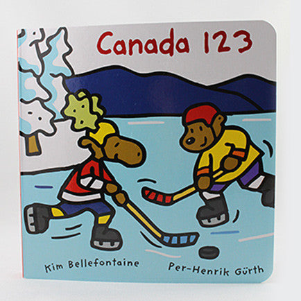 "cover a book titled ""Canada 123"""