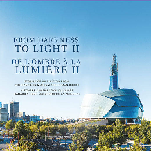 "Cover of a book entitled ""From Darkness to Light II""; the title appears in English and French"