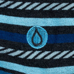 Close-up of embroidered detail of a drop of water.