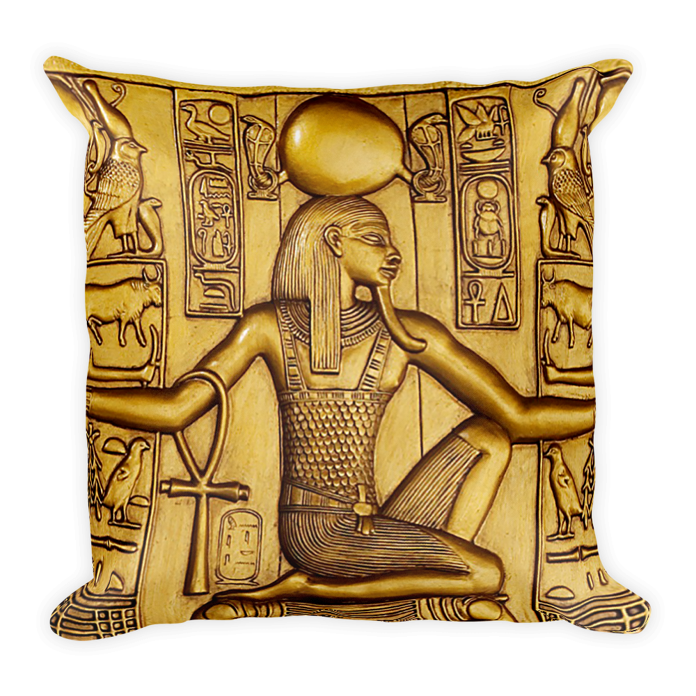 Gold Egyptian Pillow