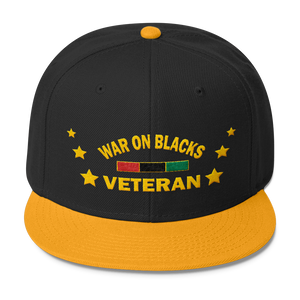 Black Veteran Hat