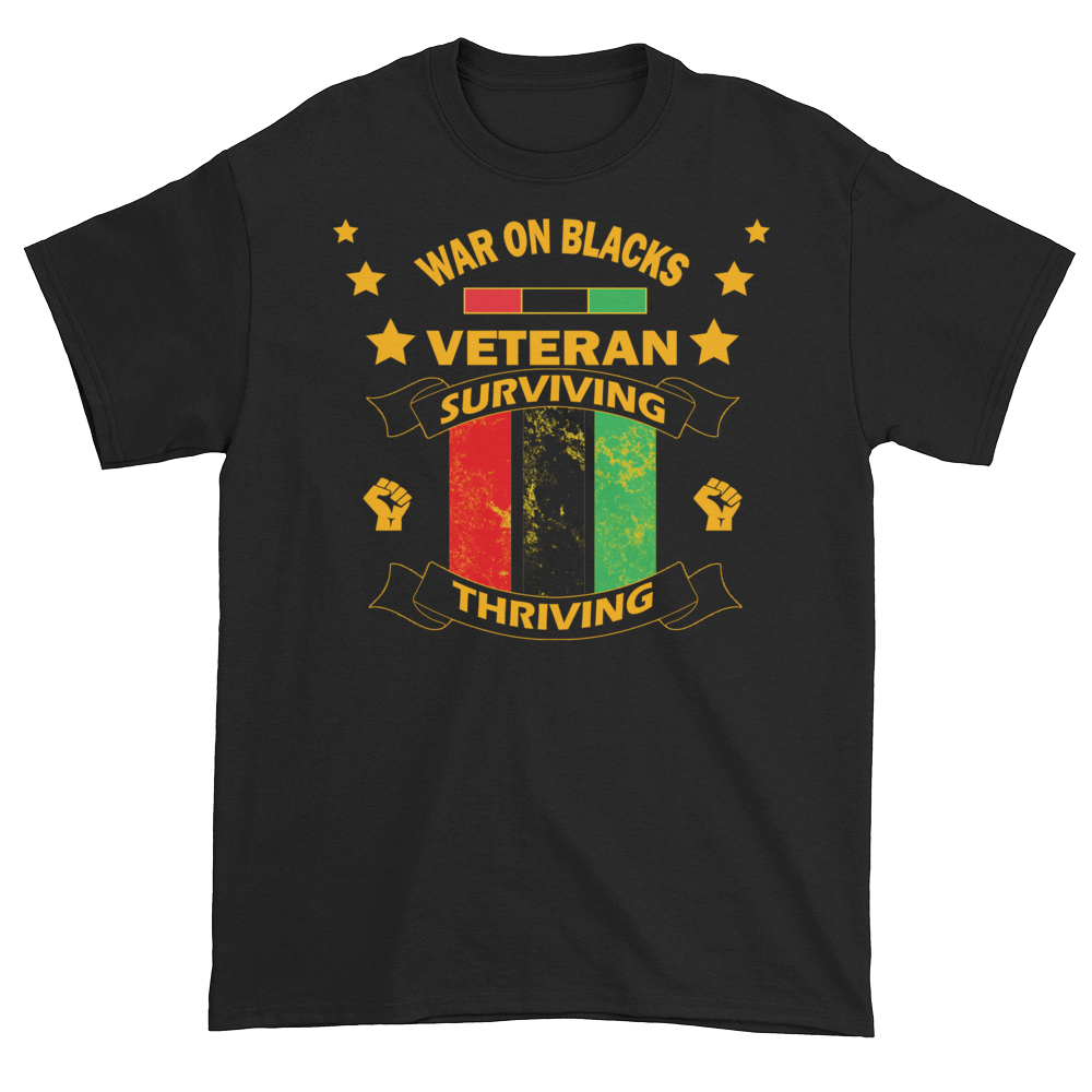 Black Veteran T-Shirt