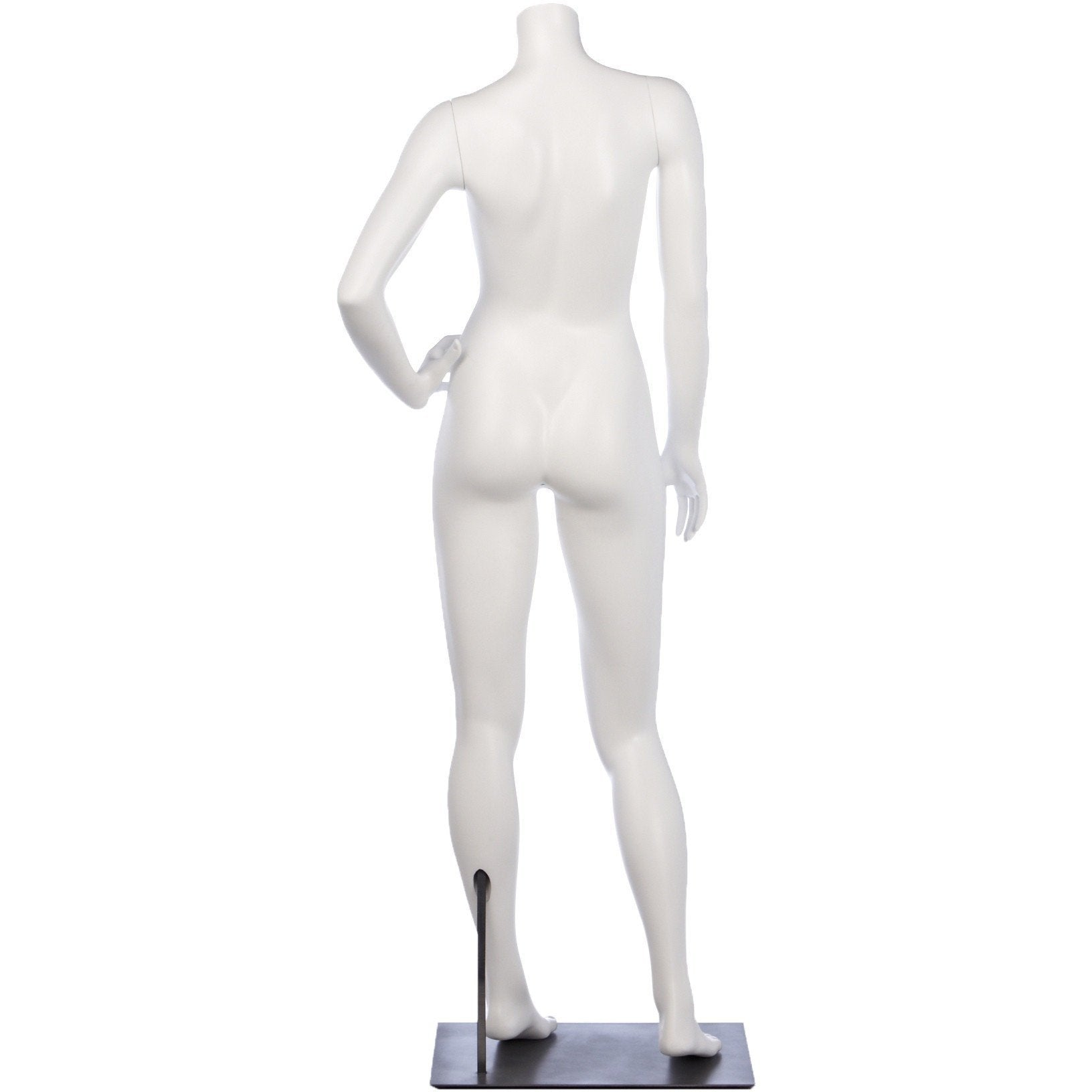 Athletic Female Full Form Mannequin by Fusion Specialties Back