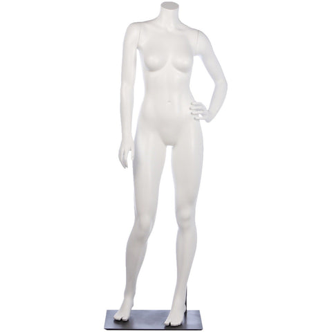 Athletic Female Full Form Mannequin by Fusion Specialties Front