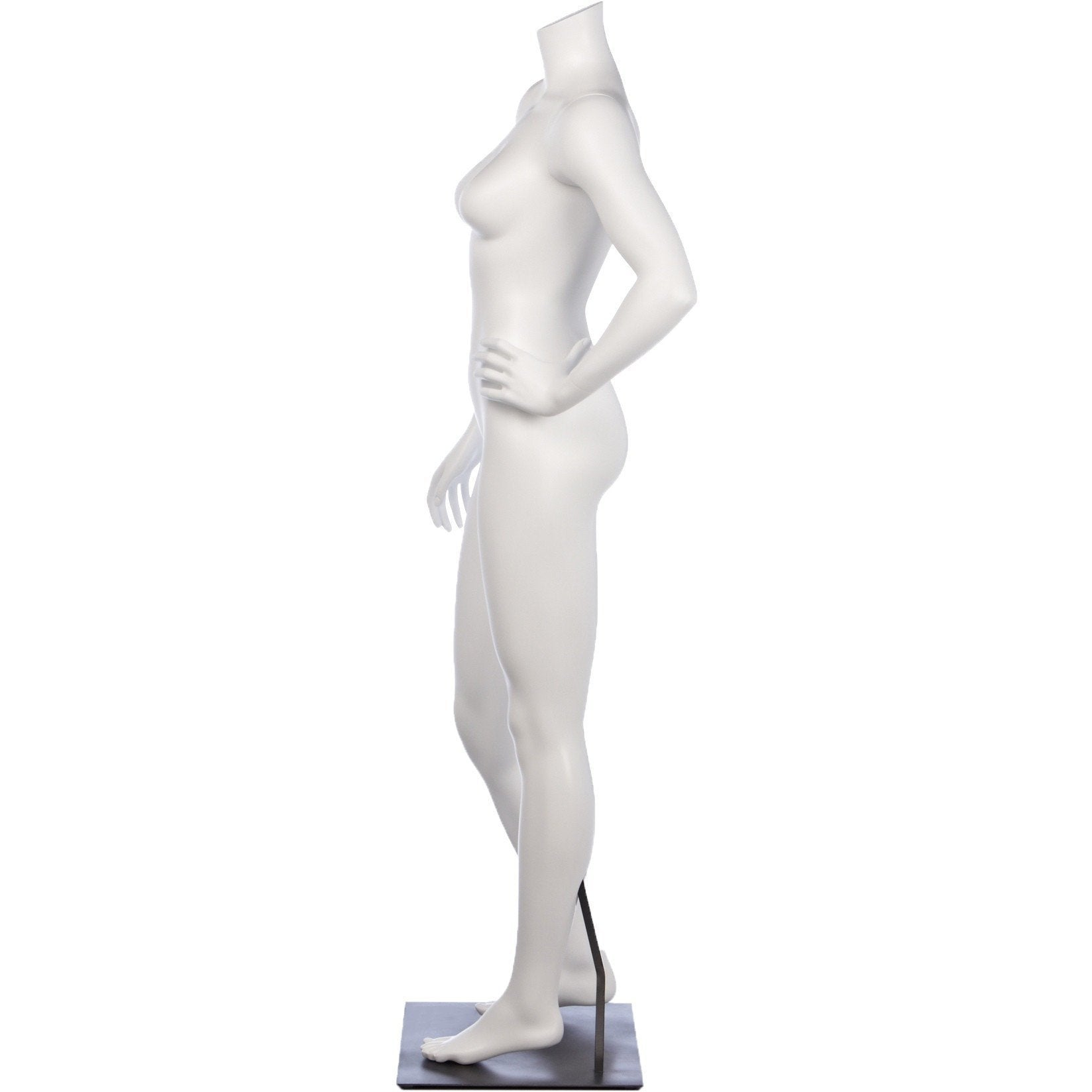 Athletic Female Full Form Mannequin by Fusion Specialties Side