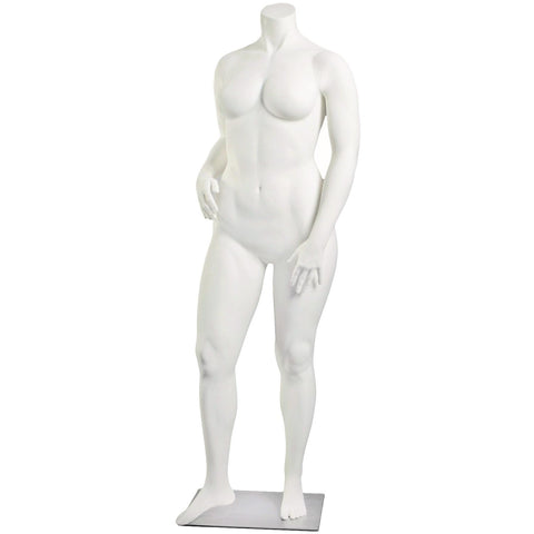 Female Full Form Plus Size Mannequin by Fusion Specialties
