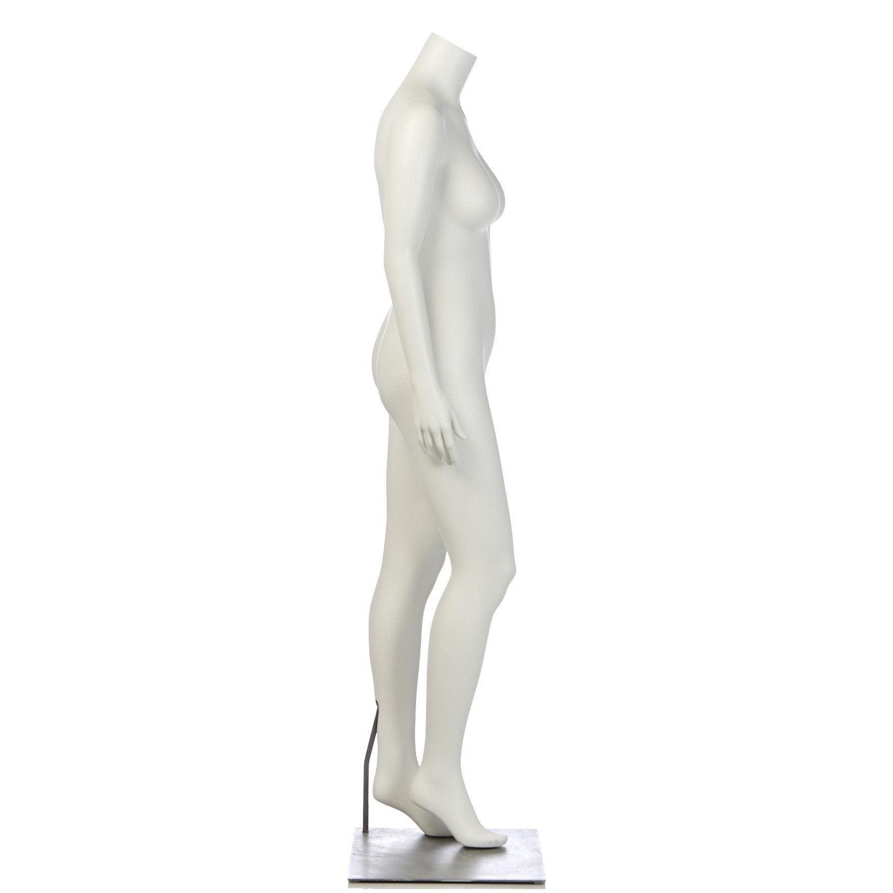 Plus Size Female Full Form Mannequin by Fusion Specialties Side
