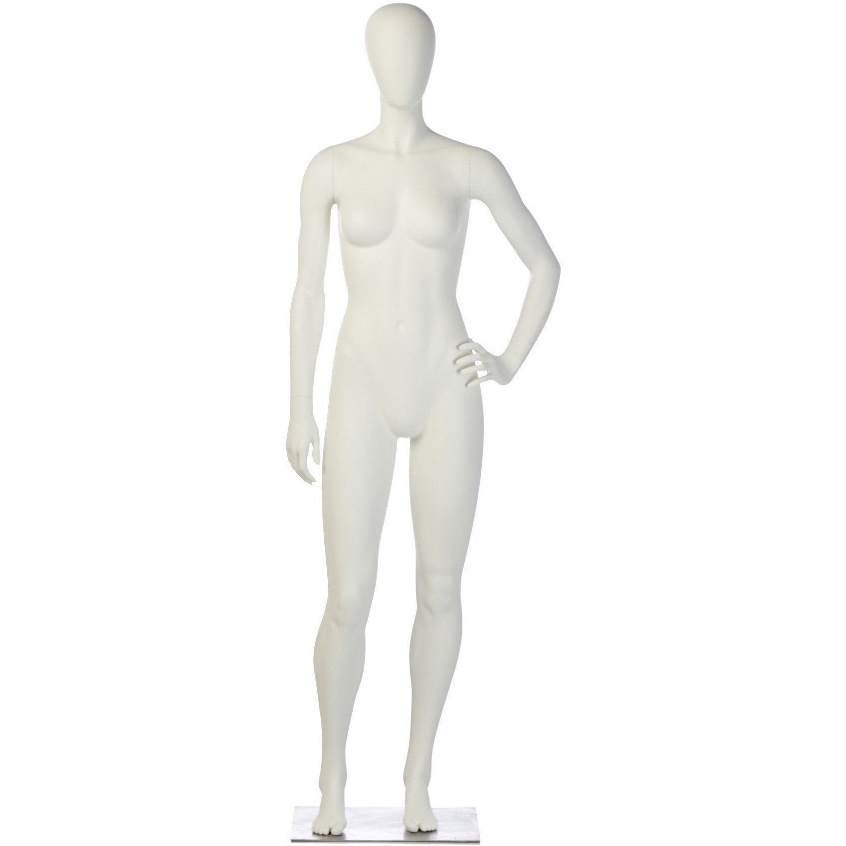 Athletic Female Mannequin by Fusion Specialties Front