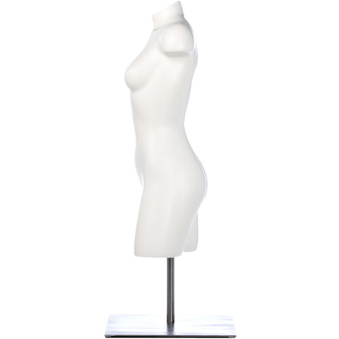 Athletic Female 3/4 Form Mannequin by Fusion Specialties Side