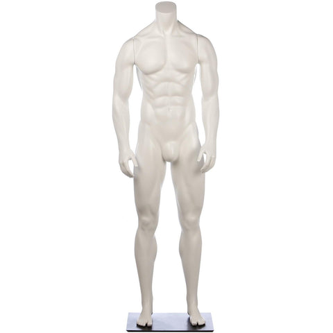 Athletic Male Full Form Mannequin By Fusion Specialties Front