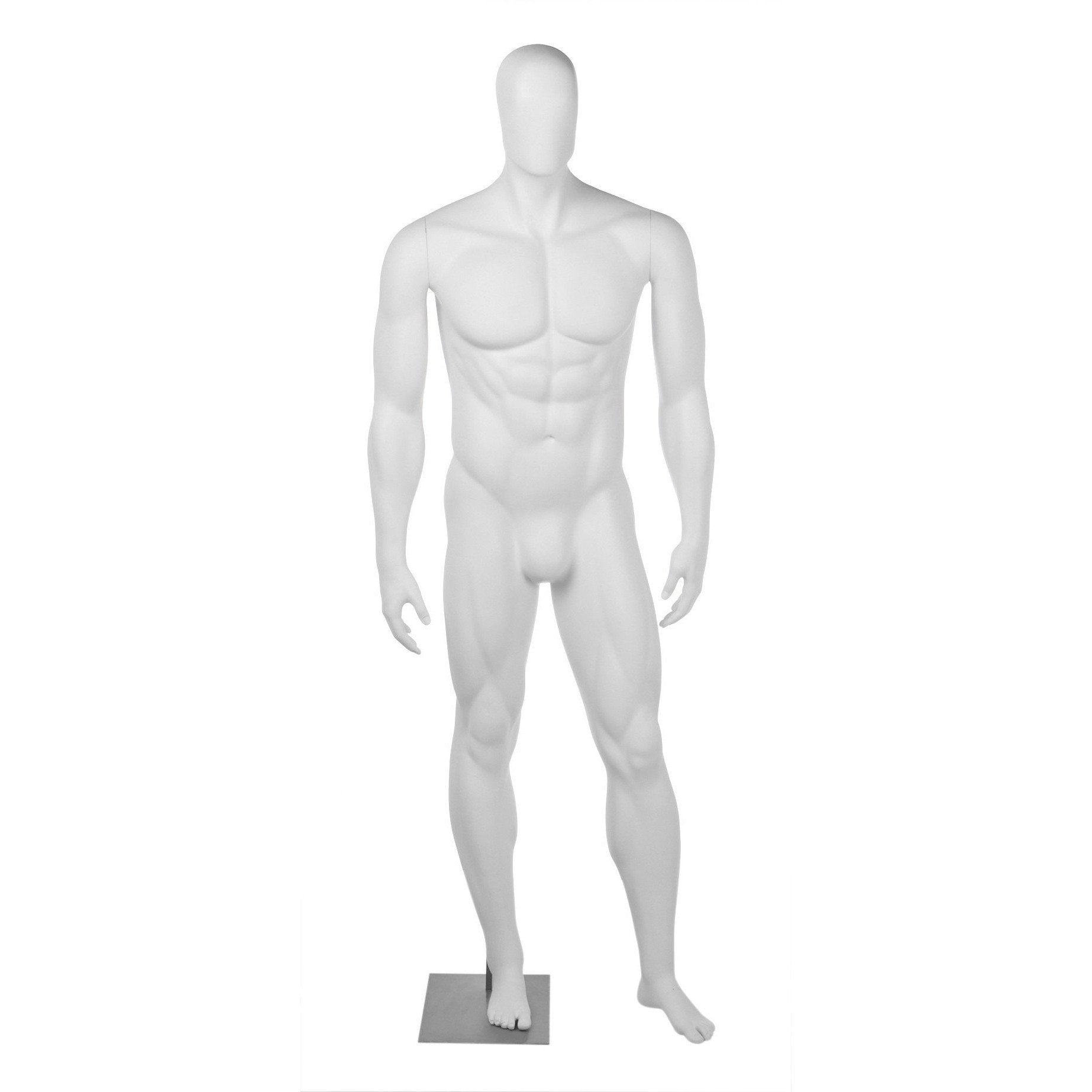 Athletic Male Football Full Form Mannequin by Fusion Specialties Front