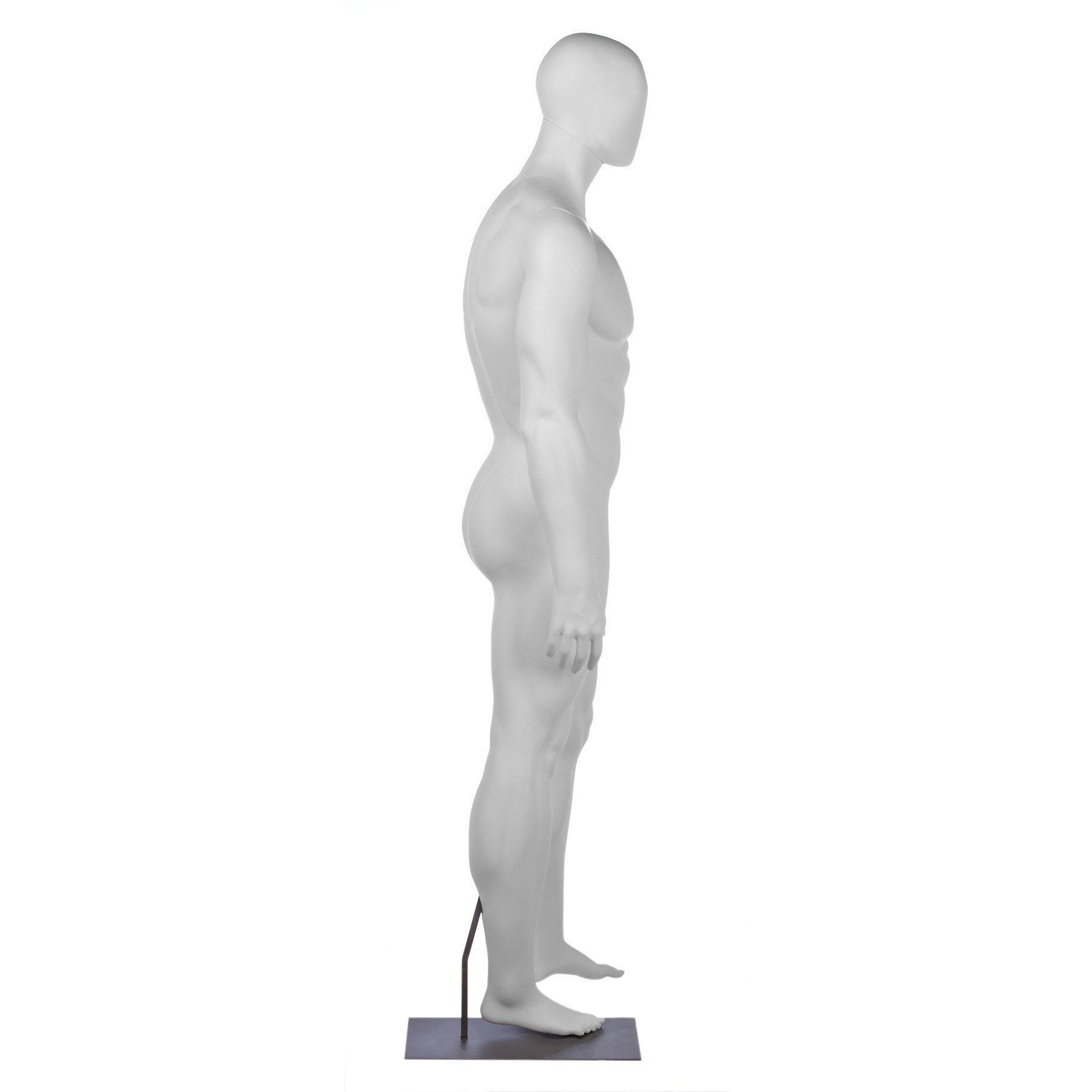 Athletic Male Football Full Form Mannequin by Fusion Specialties Side