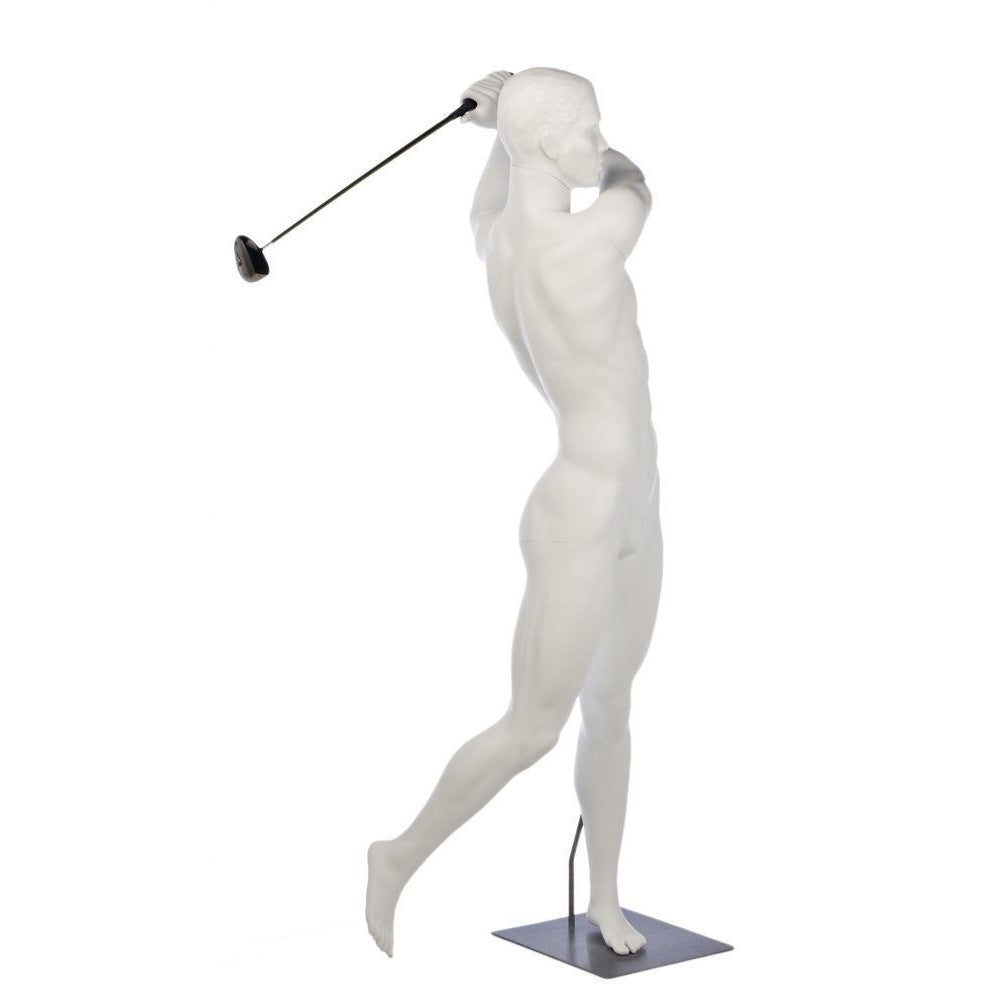 Male Full Mannequin w/Golf Swing Arms