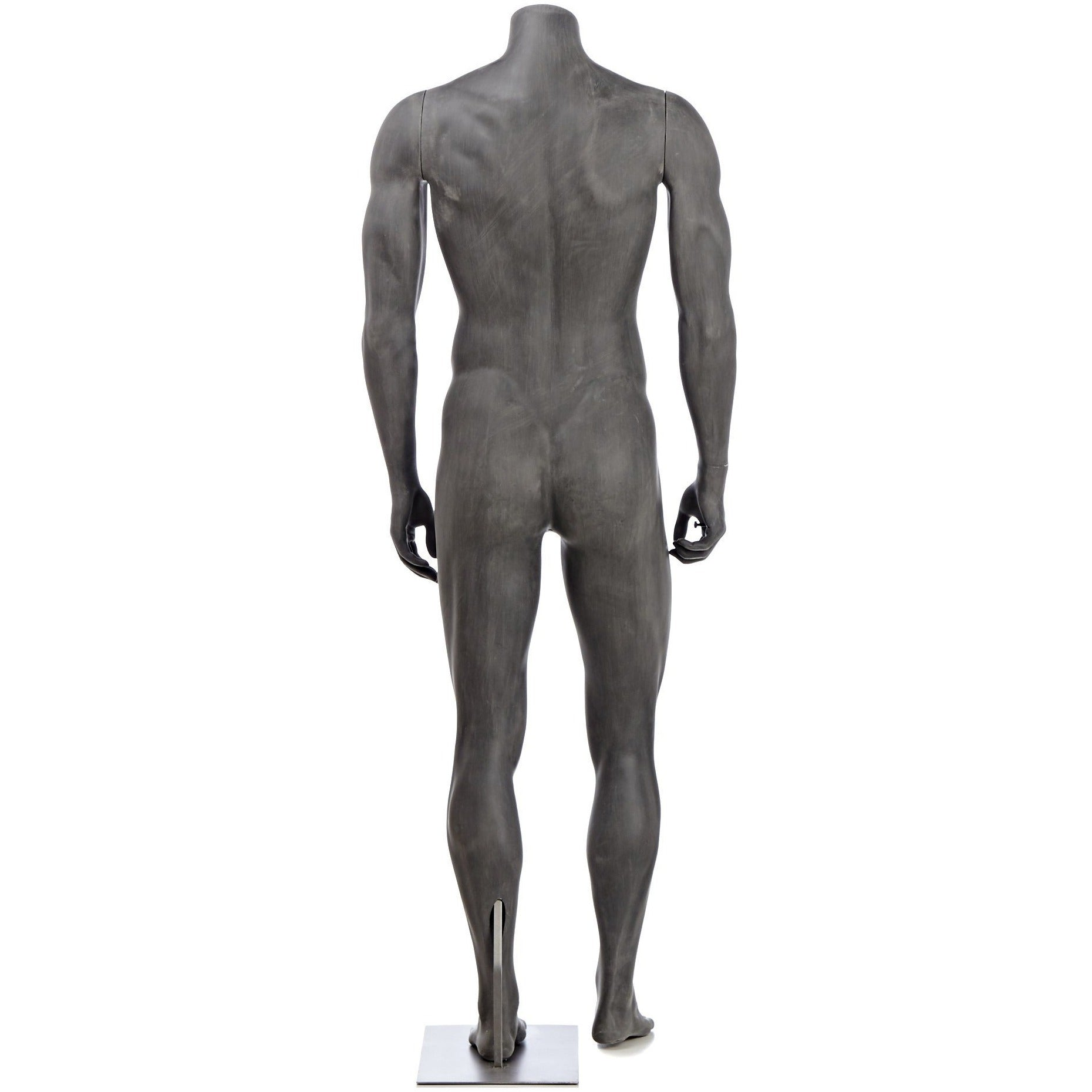 Athletic Male Full Form Mannequin By Fusion Specialties Back