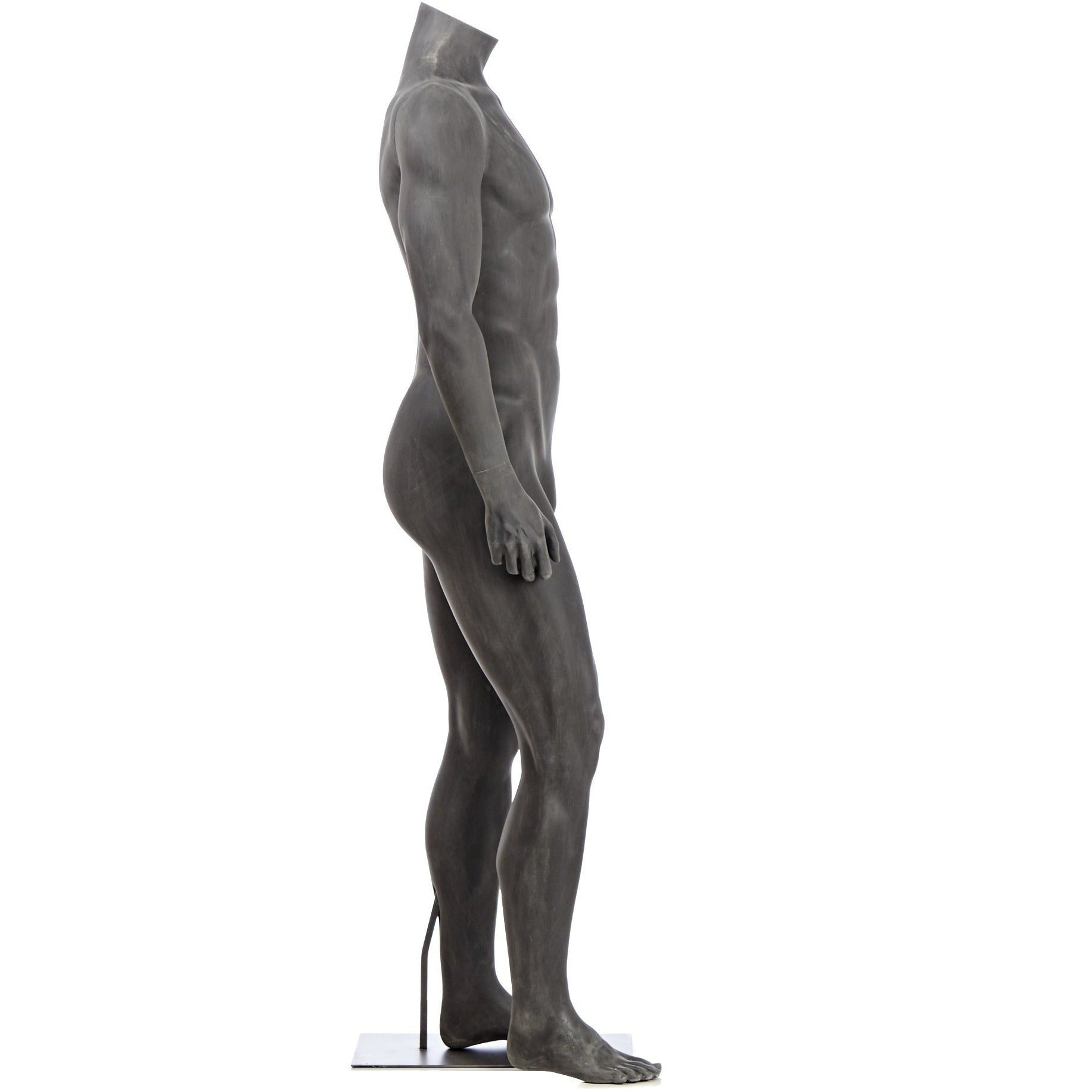 Athletic Male Full Form Mannequin By Fusion Specialties Side