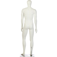 Athletic Male Mannequin by Fusion Specialties Back