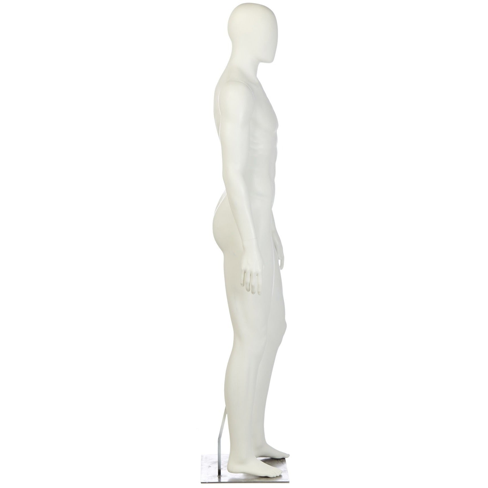 Athletic Male Mannequin by Fusion Specialties Side