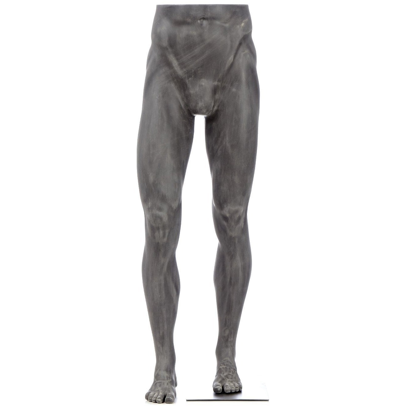 Athletic Male Pant Form Mannequin by Fusion Specialties Front