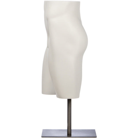 Male Short Form Mannequin by Fusion Specialties Side